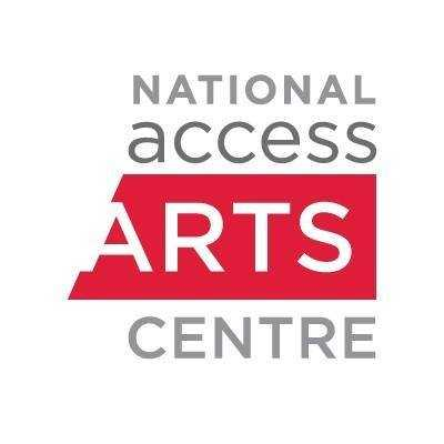 National AccessArts Centre logo in red and grey